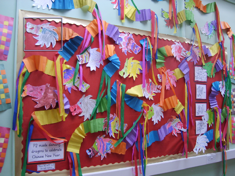 Chinese New Year Classroom Display Photo Sparklebox