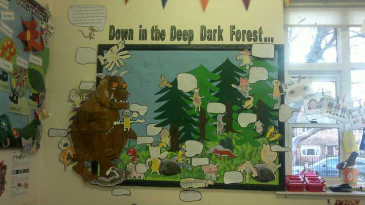the gruffalo classroom display photo sparklebox. Black Bedroom Furniture Sets. Home Design Ideas
