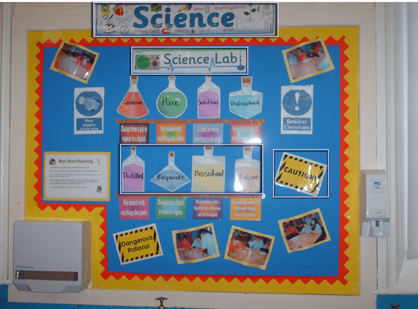 Science Classroom Decorations For Primary ~ Science classroom display photo sparklebox