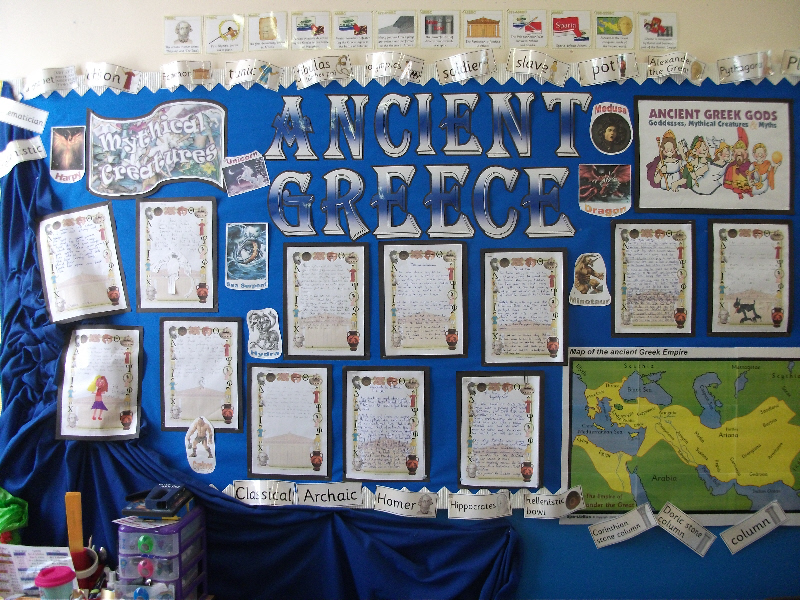 Ancient Greece Classroom Display Photo Photo Gallery