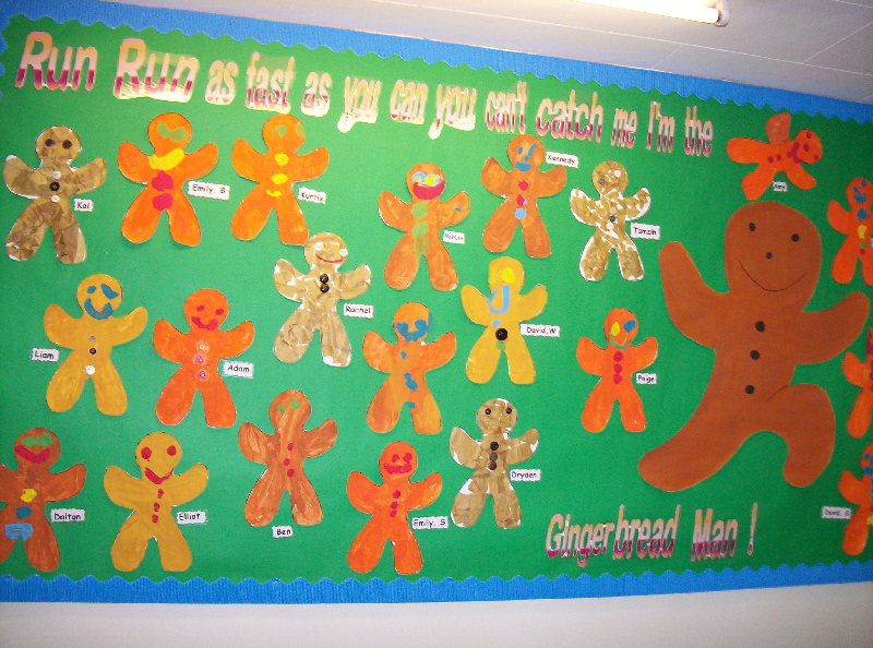 Gingerbread Man Classroom Display Photo Photo Gallery