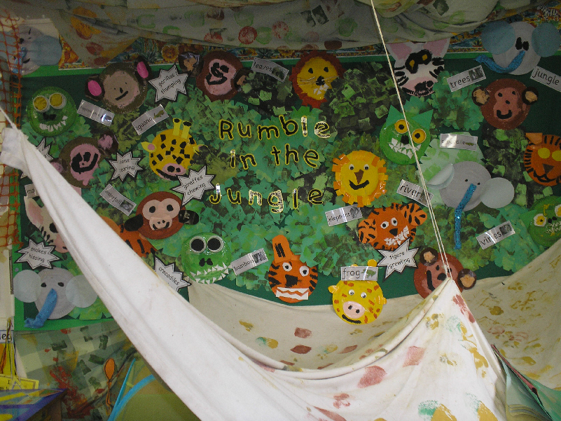 Jungle Role Play Area Classroom Display Photo Photo