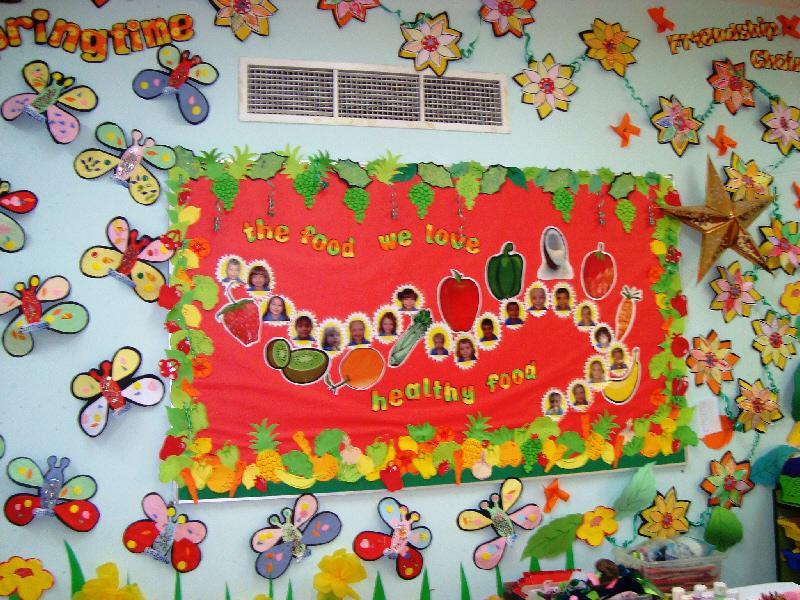 Springtime Friendship Corner Classroom Display Photo