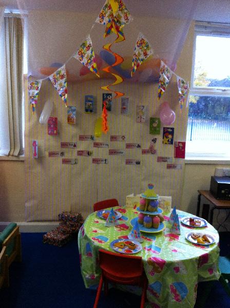 Classroom Celebration Ideas ~ Birthday party classroom display photo gallery