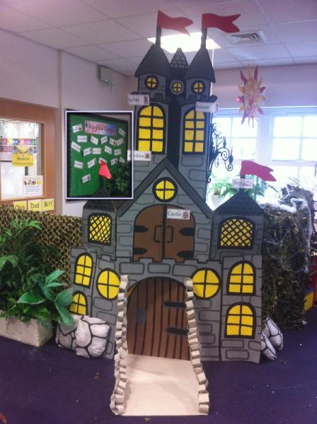 Classroom Display Ideas Nursery ~ Fairytale castle classroom role play photo sparklebox
