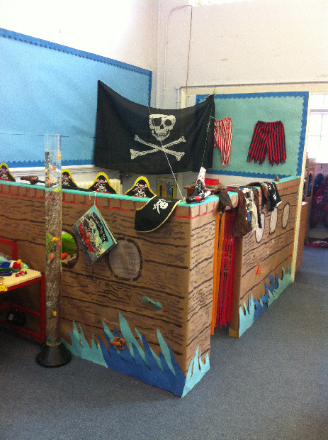 Pirate Ship role- play from Cadi