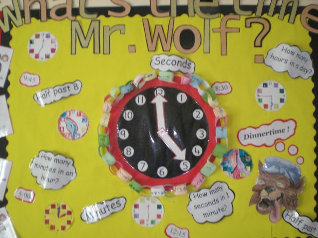 What S The Time Mr Wolf Classroom Display Photo Photo