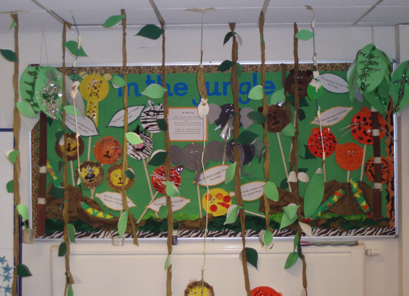 In the jungle classroom display photo - Photo gallery ...