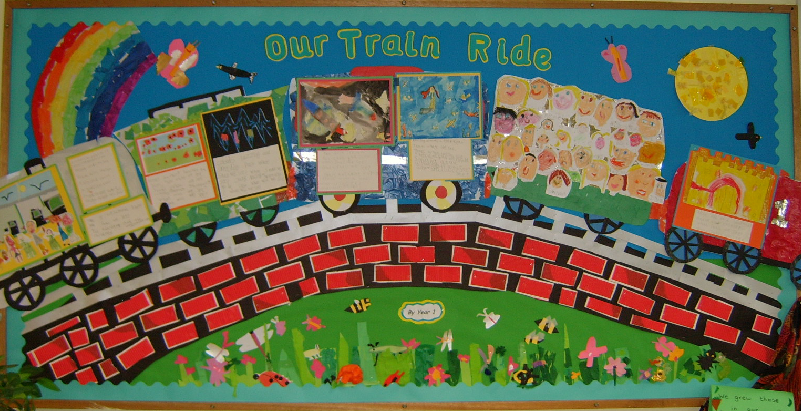 The Train Ride Classroom Display Photo Sparklebox