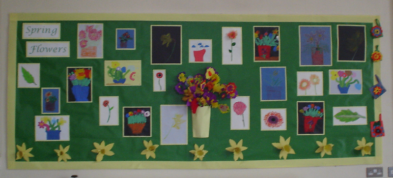 Spring Flowers Classroom Display Photo Sparklebox