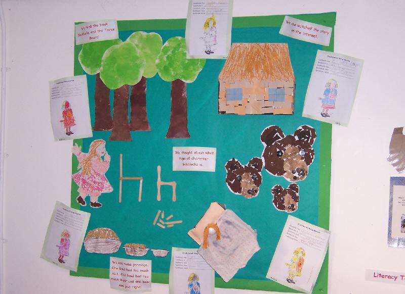 Goldilocks and the Three Bears classroom display photo - Photo gallery ...
