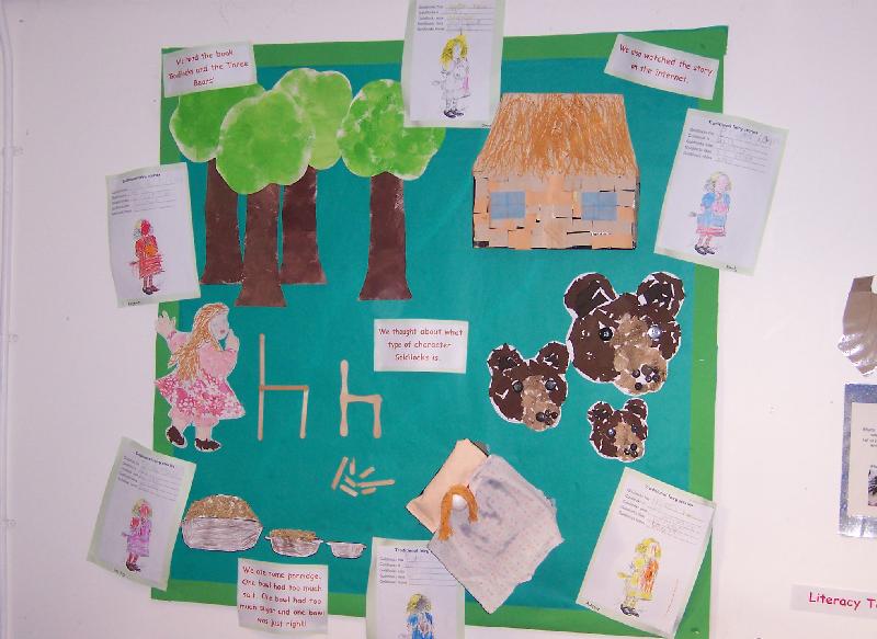 Goldilocks And The Three Bears Crafts For Preschool