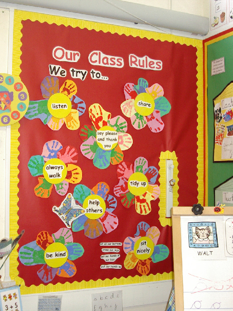 Classroom Ideas For 1 Year Olds ~ Class rules classroom display photo gallery