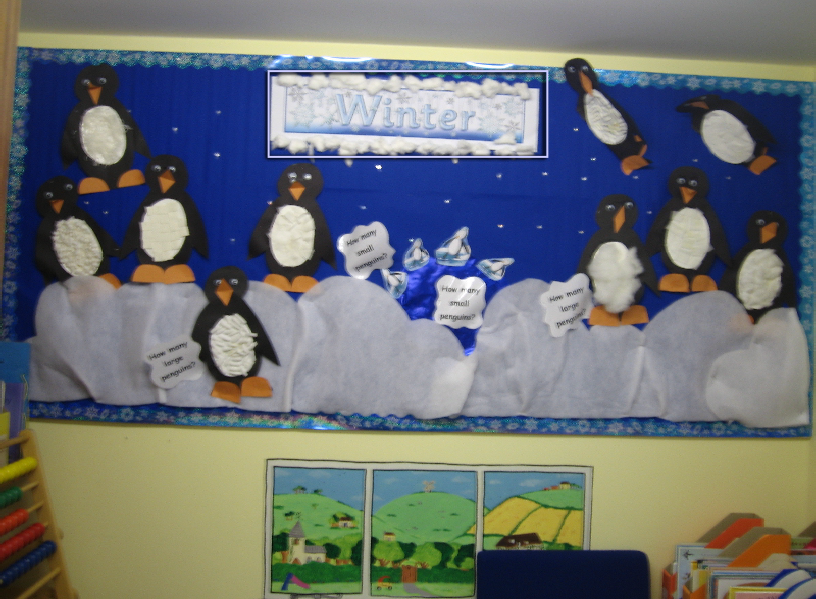 Winter Season Classroom Decorations : Winter counting classroom display photo sparklebox