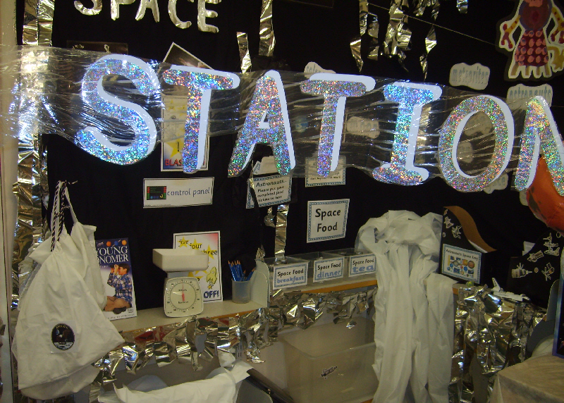 Space Station Role Play Area Classroom Display Photo