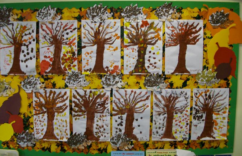 Autumn Classroom Display Photo Sparklebox