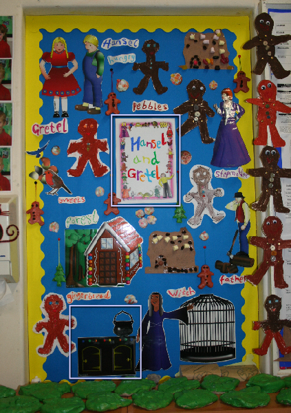 Classroom Ideas For World Book Day ~ Hansel and gretel world book day classroom display photo
