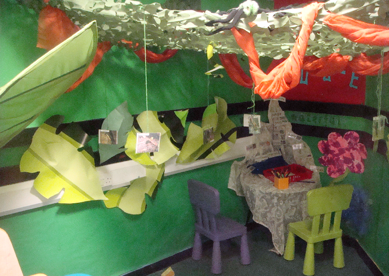 Jungle Craft Ideas For Toddlers