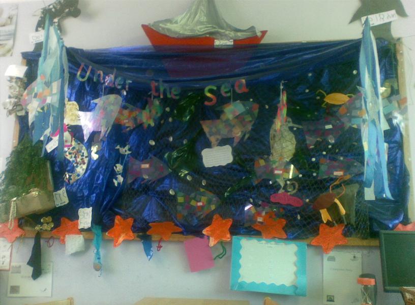 Classroom Display Ideas Under The Sea ~ Under the sea classroom display photo sparklebox