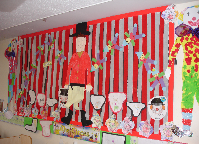 The Circus Classroom Display Photo Photo Gallery