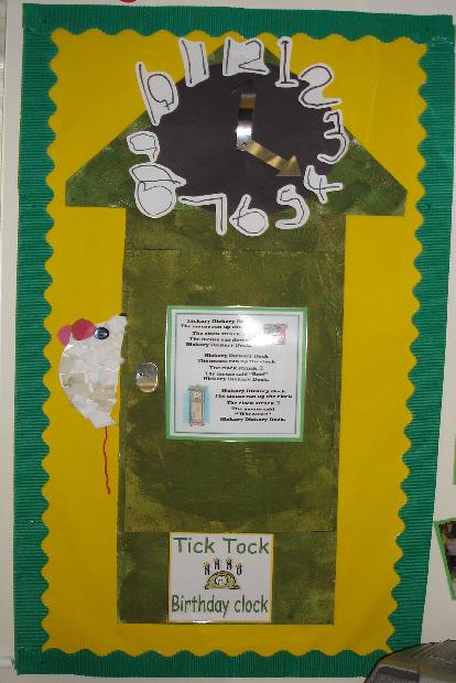 Birthday Clock Classroom Display Photo Photo Gallery