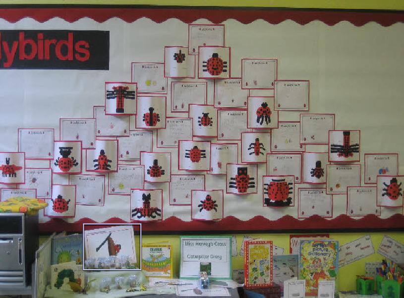 Ict Classroom Ideas ~ Symmetrical ladybird using 'dazzle ict classroom