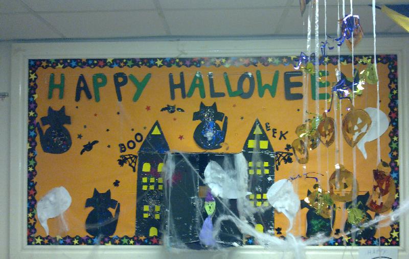 Halloween Classroom Display Photo - SparkleBox