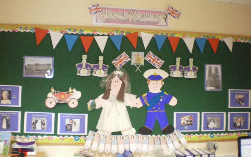 The Royal Wedding Classroom Display Photo Sparklebox
