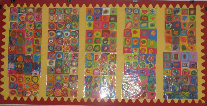 Kandinsky  Year 2  Classroom Display Photo