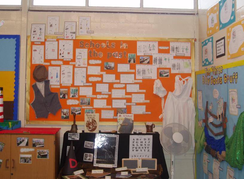 Classroom Display Ideas Victorians : School in the past victorians classroom display photo