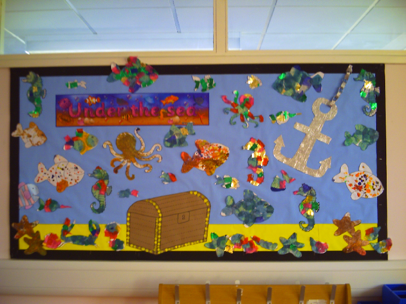 Classroom Ideas For Under The Sea ~ Under the sea classroom display photo gallery