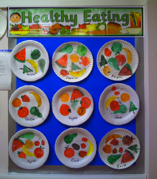 Healthy Eating Classroom Display Photo - SparkleBox