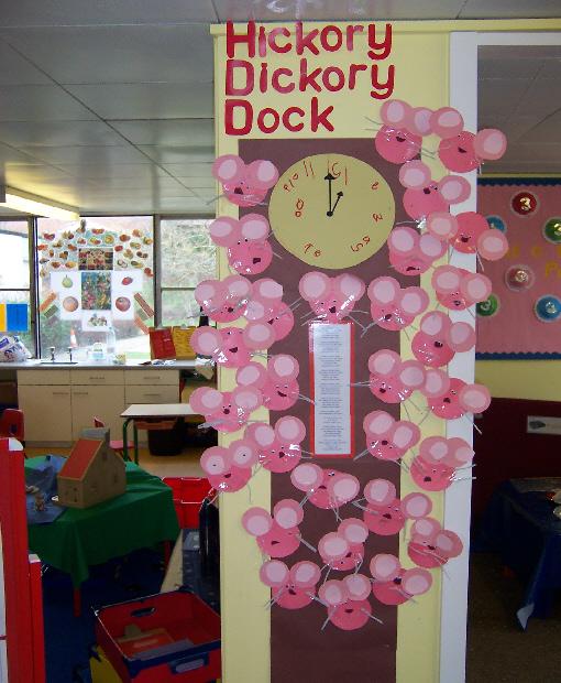 Hickory Dickory Dock Classroom Display Photo Photo