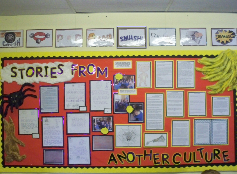 Stories From Another Culture Classroom Display Photo