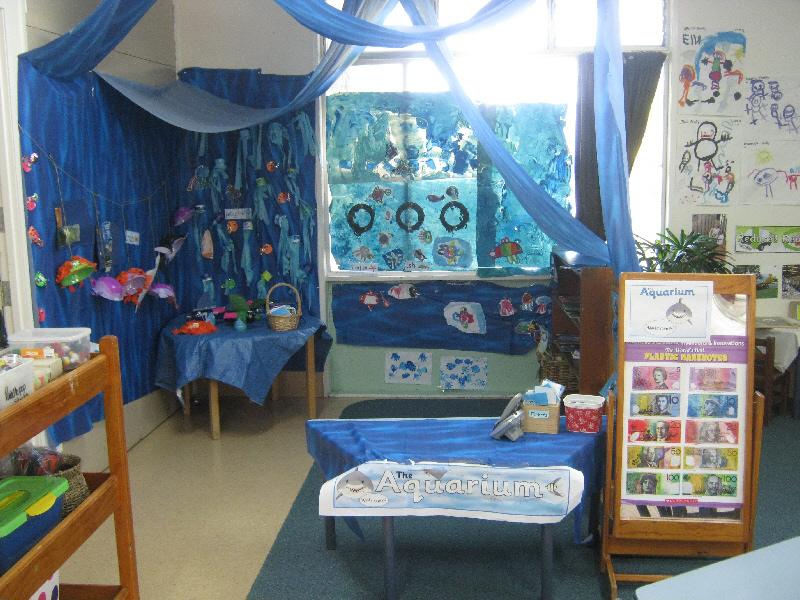 Classroom Aquarium Ideas ~ Aquarium role play area classroom display photo sparklebox