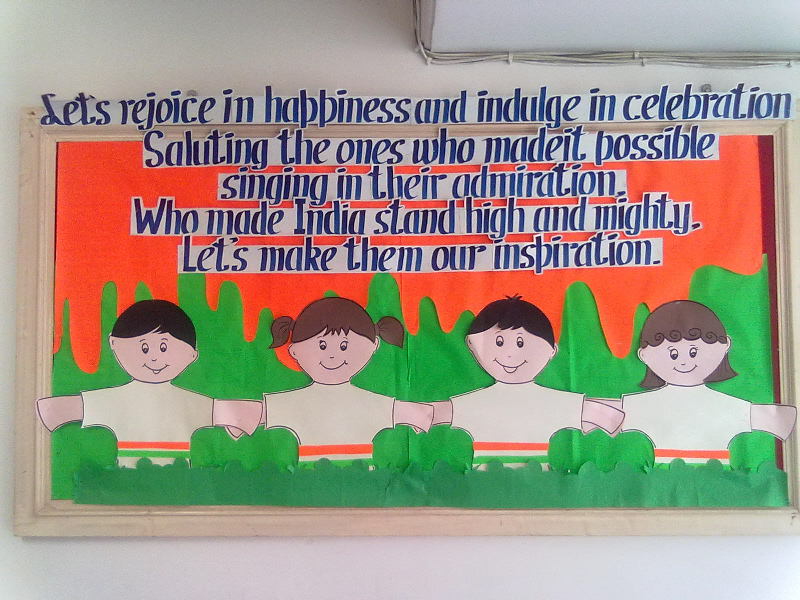 Indian independence day classroom display photo photo for 15th august independence day decoration ideas