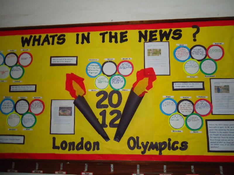 Classroom Olympics Ideas ~ London olympics classroom display photo sparklebox