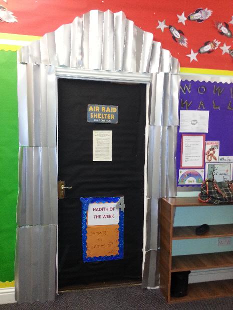 Ww2 Air Raid Shelter Classroom Door Classroom Display