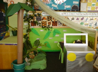 Jungle Role Play Classroom Displays Photo Gallery Sparklebox