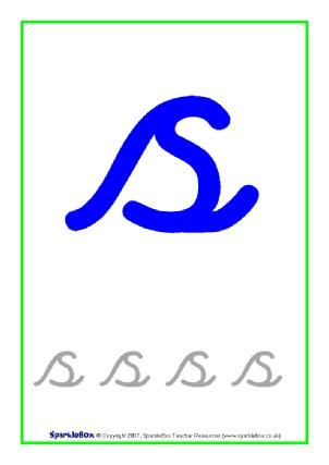 Cursive Letter Formation Teaching Resources & Printables - SparkleBox