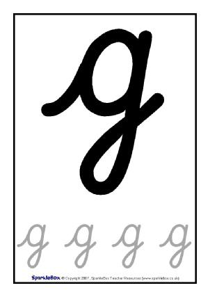 Cursive Letter Formation Teaching Resources & Printables