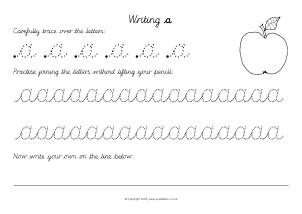 Handwriting Learning Journey