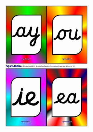 Print and Cursive Alphabet Flashcards and Posters – UPDATED!