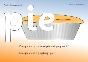 Worksheets Ie Words Phonics List digraph primary activities and printables sparklebox words with ie playdough mats ref sb4741