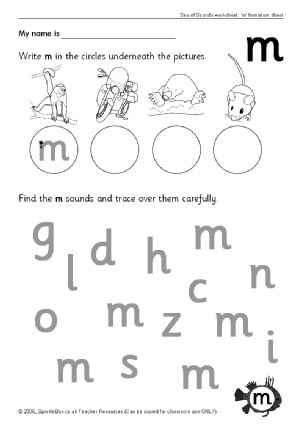 math worksheet : letter m sound worksheets for kindergarten  letter m sound  : Letter M Worksheet Kindergarten