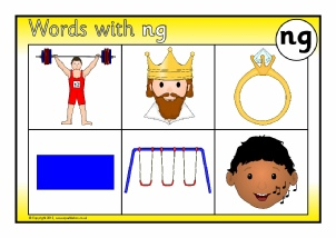 Words with NG - Phonics Activities and Printable Teaching ...
