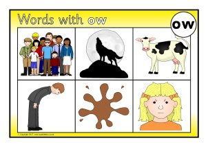 Words With Ow Phonics Activities And Printable Teaching Resources Sparklebox