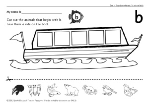 math worksheet : letter b phonics activities and printable teaching resources  : Letter B Worksheets Kindergarten