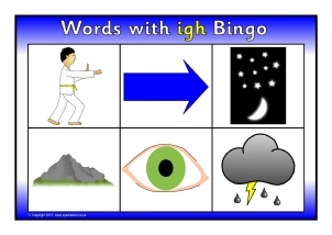 Worksheets Igh Words Phonics words with igh phonics activities and printable teaching bingo sb11835