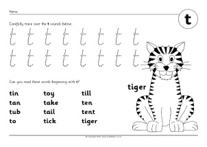 phoneme worksheets t sb9706 simple printable worksheets where children ...